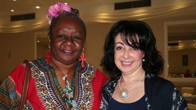 Emelda Davis and Lynda Ben-Menashe