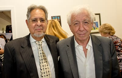 George Farkas and Frank Lowy     Photo: Henry Benjamin/J-Wire