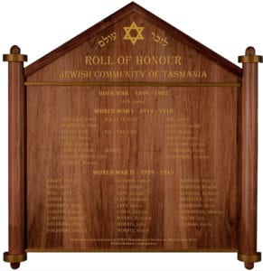 The Hobart Roll of Honour