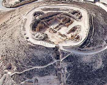 The site from the air   Photo: Tatzpit Aerial Photography
