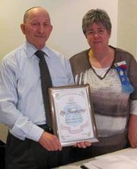 Ben Hirsch and Judy Landau