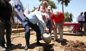 Triguboff funds new amphitheatre on Jerusalem's Ammunition Hill