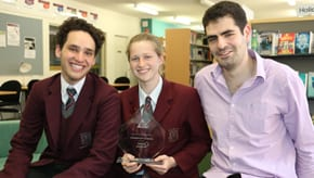 Emanuel School's Double Champions in HICES Debating