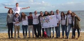 Israeli year 10 students from the Arava visit Australia