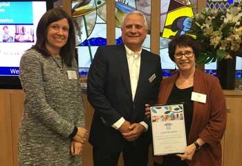 Deborah Blackman – JAAFV, Daniel Goulburn – Chairman Wolper Jewish Hospital Health Foundation, Agi O'Hara – JAAFV