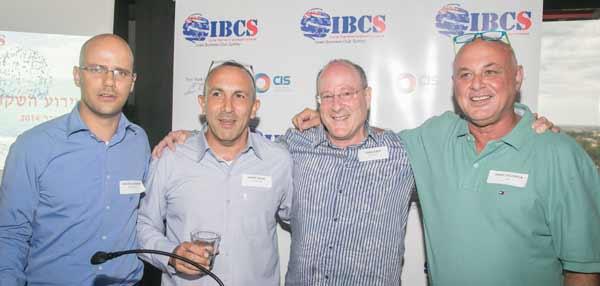 Founders Doron Goldbarsht, Danny Nadri, Yoav Lewis, Isaac Solomon