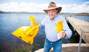 25th anniversary of Clean-up Australia Day