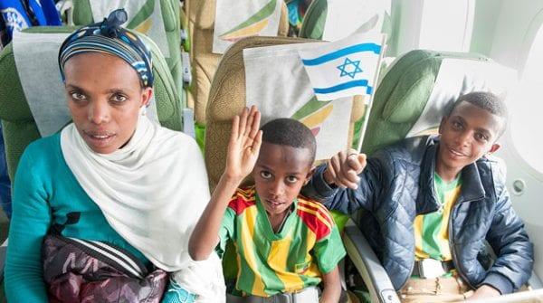 Israel bound    All photos: Moshek Brin