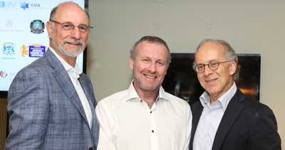 Peter Philippsohn, Michael Graf and Stephen Chipkin