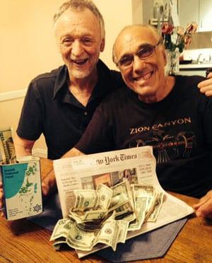 George Klas and Paul Lowinger