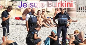 Je Suis Burkini…writes Rabbi Jeremy Lawrence