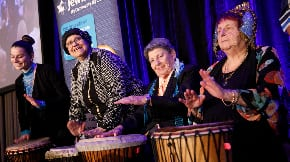 Drumming up community support at Jewish Care's Annual Appeal Dinner