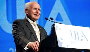 John Howard given a standing ovation at UIA function
