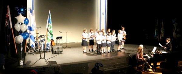 Kadima Choir Yom Ha'azmaut   Photo Guy Sagiv
