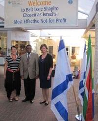 BIS founding president Naomi Stuchiner, Ambassador Sisa Ngombane and Jean Judes