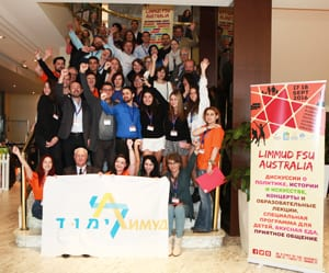 Some of the participants at this past weekend's Limmud FSU Australia