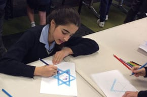Scopus students write to IDF soldiers