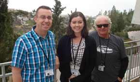Kiwi educators at Yad Vashem