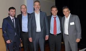 Noam Gershony, Sagi Ben-Yosef, Saul Singer, Richard Volpe and Danny Taibel