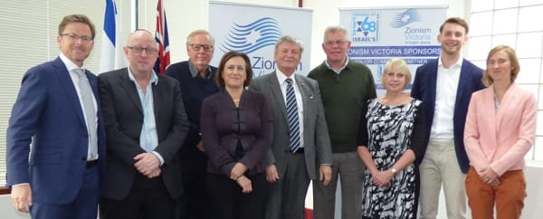 Zionism Victoria hosted an international delegation from Christians for Israel