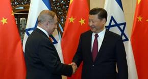 Benjamin Netanyahu meets with Chinese President Xi Jinping