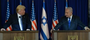 Dinner with the Netanyahus and the Trumps