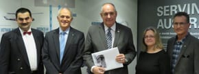 Greek Deputy Foreign Minister visits Jewish Museum