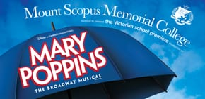 Apr-02 – Apr-04   Melbourne:   Mary Poppins