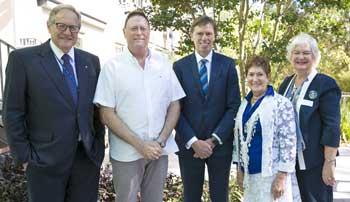 President David Freeman, Ron Weiser, CEO Robert Orie, Hazel Stein and Jane Silverman