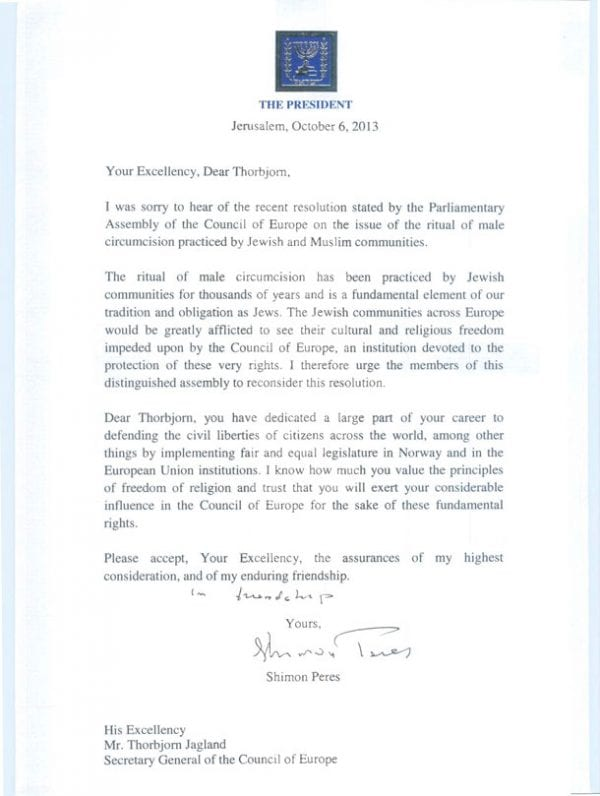 President-Peres-to-the-Secretary-General-of-the-Council-of-Europe