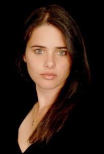 Israeli Justice Minister Ayelet Shaked. Credit: Wikimedia Commons.