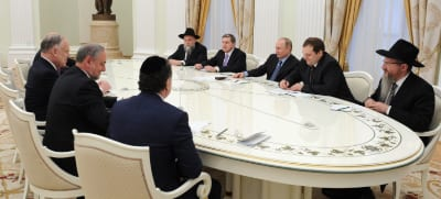 Meeting with Putin  Photo: Kremlin Press Service