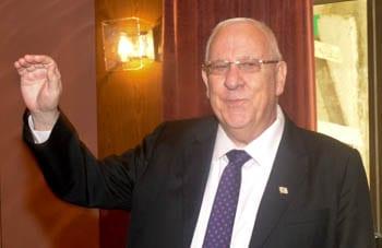 President-elect Reuven Rivlin