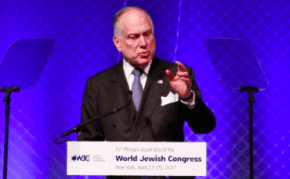 Ronald S. Lauder says anti-Zionists are anti-Semites