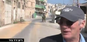 Breaking the Silence takes Richard Gere to Hebron