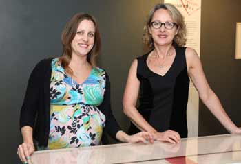 Curators Shannon Biederman and Ros Sugerman
