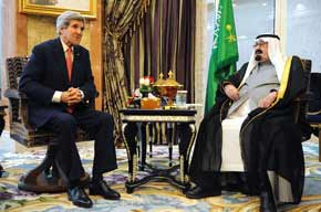 After king's death, status quo expected for Saudi relations with Iran and Israel