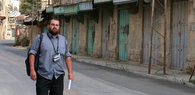 Yehuda Shaul in Hebron
