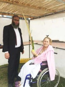 Rabbi Mendel Kastel and Aviva Magid