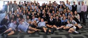 Scopus students on Ulpan