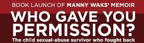 Manny Waks memoir launch