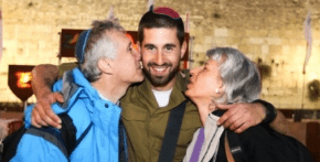 Parents travel to Jerusalem to see paratrooper son graduate