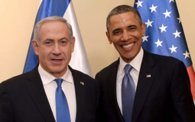 Israeli Prime Minister Benjamin Netanyahu and U.S. President Barack Obama. Credit: Getty Images