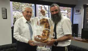 A challah for number one