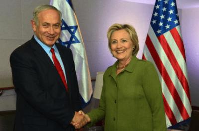 Democratic nominee Hillary Clinton meeting with Israeli Prime Minister Benjamin Netanyahu in September. Credit: Kobi Gideon/GPO.