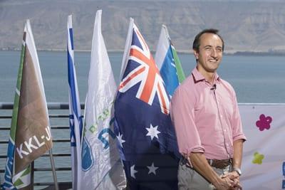 Australia's ambassador to Israel Dave Sharma