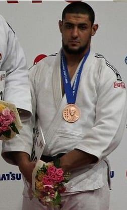 Egyptian judoka Islam El Shahaby in 2010. Credit: Wikimedia Commons.