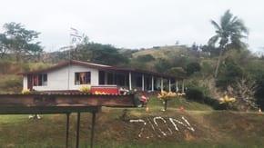 Warm welcome in Fiji