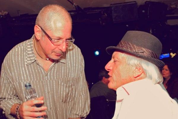 Ginsburg [l] meets Shimon Farkas