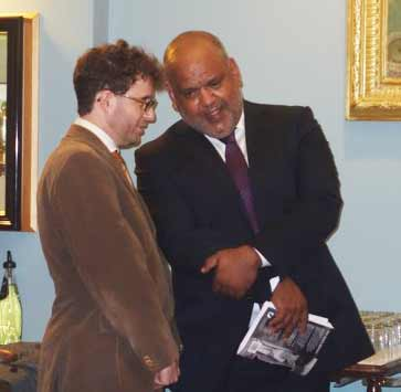 Damien discusses the book with Noel Pearson